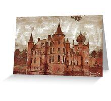 Cleydael Castle - Antwerp - Belgium Greeting Card