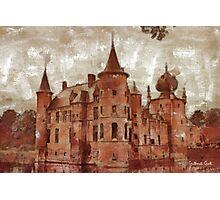 Cleydael Castle - Antwerp - Belgium Photographic Print