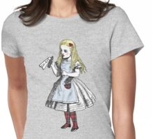 Alice Say Aye to Scottish Independence Womens Fitted T-Shirt