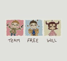 Team Free Will by prettyoddchild