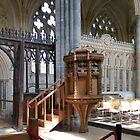 The Pulpit - Exeter Cathedral by MidnightMelody