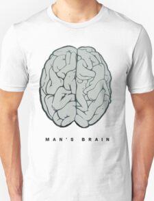 man's brain Unisex T-Shirt