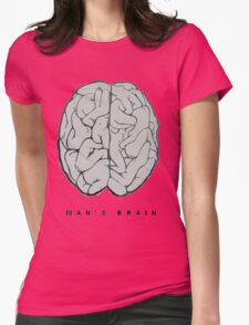 man's brain Womens T-Shirt