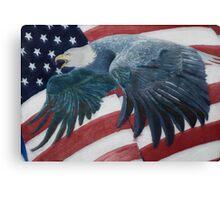 American Warrior Canvas Print