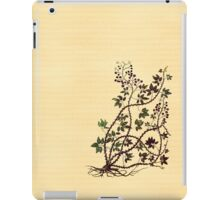 Medieval Vines and Bramble iPad Case/Skin