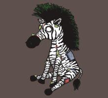 Zazzles the Zombie Zebra by Studio8107