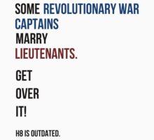 some revolutionary war captains marry lieutenants Baby Tee