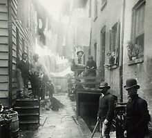 Bandit's Roost by Jacob Riis by pdgraphics