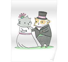 Guinea-pig Wedding Poster
