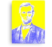 Electric Lincoln by Douglas Fresh Canvas Print