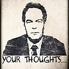 Max Keiser (Your Thoughts) Poster by Mother Shipton