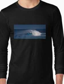 Morning surf at Sunset Beach. Long Sleeve T-Shirt
