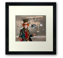 Mad Hatters Tea Party Framed Print