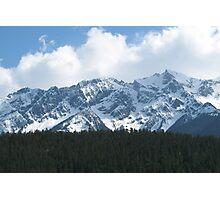 British Columbia Coastal Mountains Photographic Print