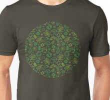 Eco symbols line art pattern Unisex T-Shirt