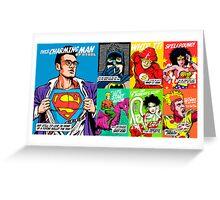 Post-Punk Super Friends Full Set 2 Greeting Card