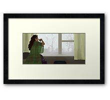 One Fine Day Framed Print