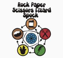 The Big Bang - Rock, Paper, Scissors, Lizard, Spock by Immortalized