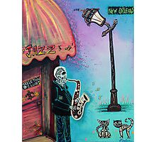 The New Orleans Skeleton Club Photographic Print