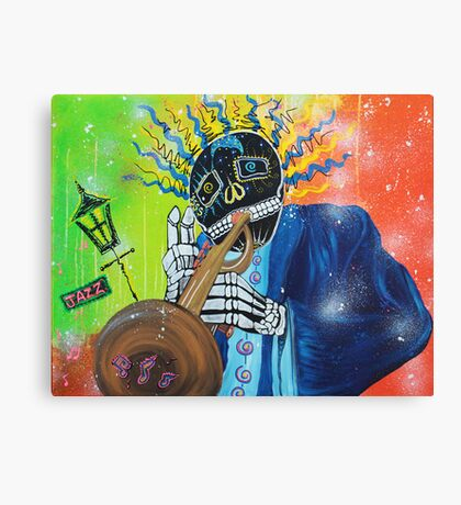 Play That Funky Music Canvas Print