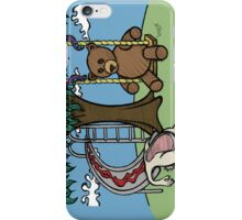 Teddy Bear And Bunny - The Playground iPhone Case/Skin