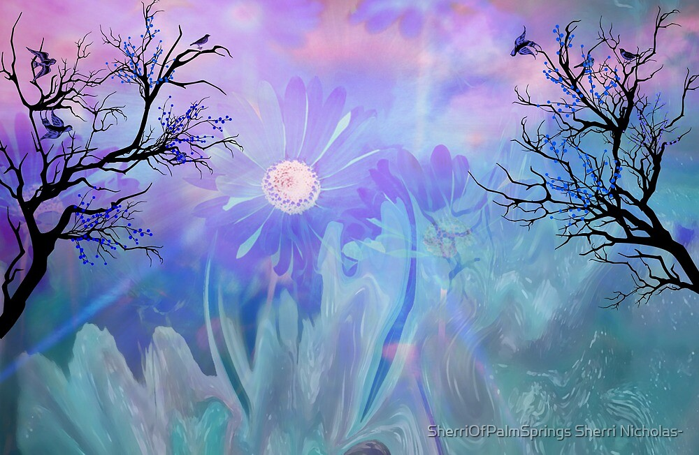 Got The Blues? Forget it!! These Blues will cheer by Sherri     Nicholas