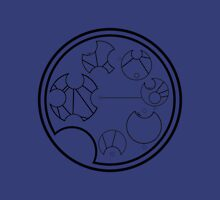 "Circular Gallifreyan, Carl Segan Quote ""We are made of star stuff."" Unisex T-Shirt"