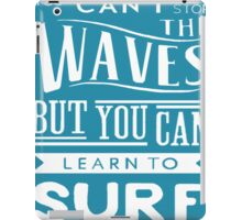 Learn to Surf iPad Case/Skin