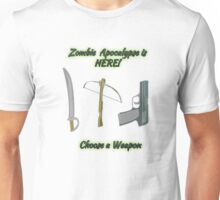 Choose a Weapon Unisex T-Shirt