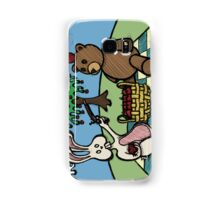 Teddy Bear And Bunny - A Dangerous Game Samsung Galaxy Case/Skin