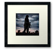 Fisherman Memorial  Framed Print
