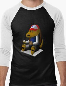 Baseball Dog Men's Baseball ¾ T-Shirt
