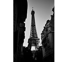 Eiffel Tower 2 Photographic Print
