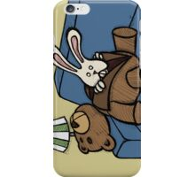 Teddy Bear And Bunny - Inner Soul iPhone Case/Skin