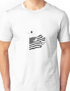 American Flags and Cameras Unisex T-Shirt