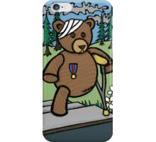 Teddy Bear And Bunny - Home From The War iPhone Case/Skin