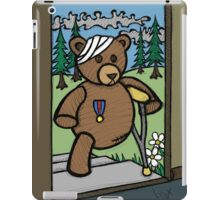 Teddy Bear And Bunny - Home From The War iPad Case/Skin