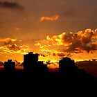 Golden Vancouver Sunset by Brian Chase