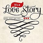 Love Story by Elly Hartley
