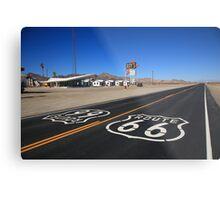 Route 66 Shield Metal Print