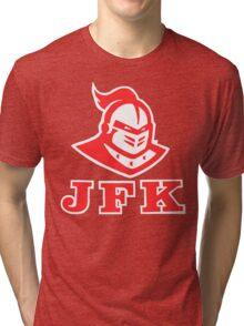 JFK Campus Design Tri-blend T-Shirt
