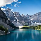 Moraine Lake by Pam Hogg