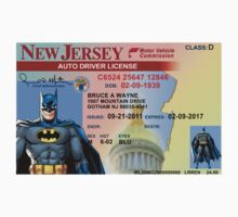 Batman Driver's License by Waconer