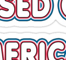 Pissed Off American Sticker