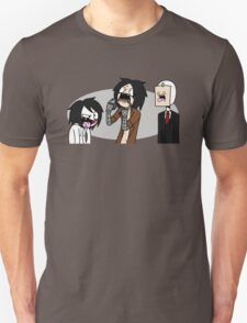 Creepypasta Funny Faces Unisex T-Shirt