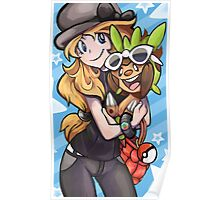 SERENA AND CHESPIN Poster