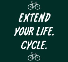 Extend Your Life. Cycle. (dark) by PaulHamon