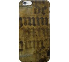 Medieval Book Cover iPhone Case/Skin