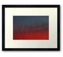 hollywood sunset - 2 Framed Print