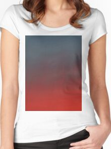 hollywood sunset - 2 Women's Fitted Scoop T-Shirt